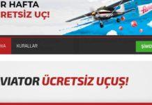 Aviator her hafta ücretsiz uç bonusu